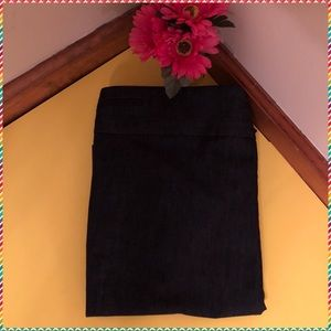 DENIM like new knee length skirt. Dress up or down
